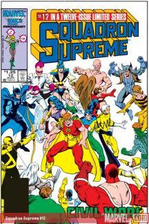 Squadron Supreme (1985) #12