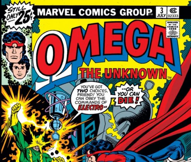 Omega the Unknown #3