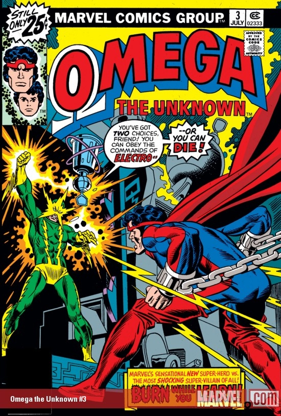 Omega the Unknown (1976) #3