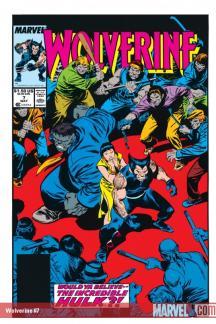 Wolverine (1988) #7