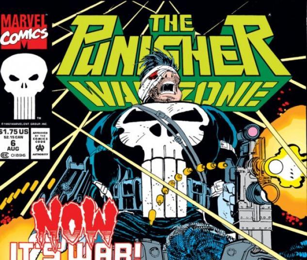 The Punisher War Zone (1992) #6