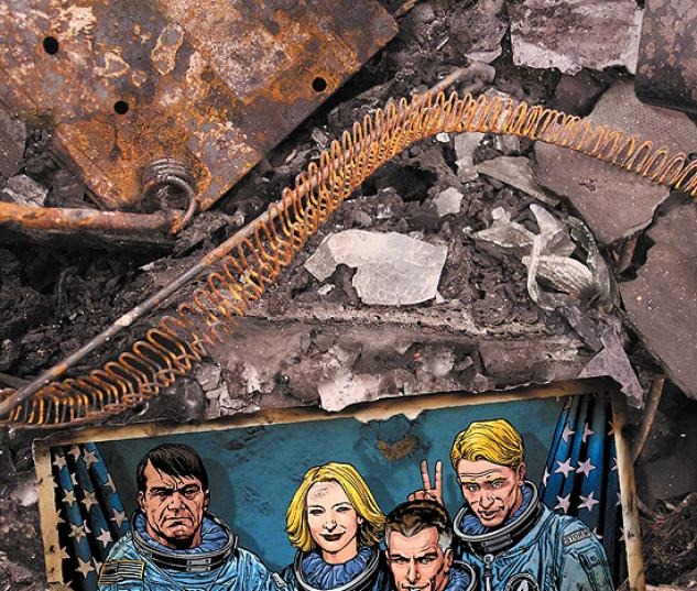 FANTASTIC FOUR: FIRST FAMILY (2008) #1 COVER