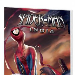 SPIDER-MAN: INDIA COVER