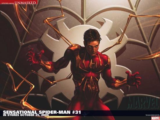 Sensational Spider-Man (2006) #31 Wallpaper
