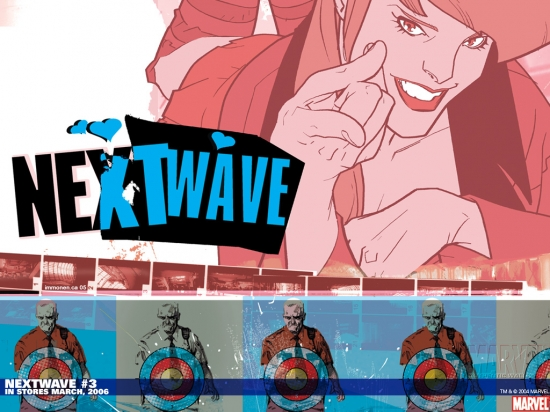 Nextwave: Agents of H.a.T.E. (2006) #3 Wallpaper