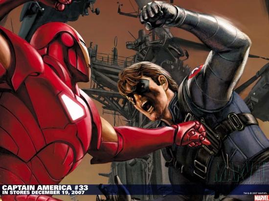 Captain America (1998) #33 Wallpaper