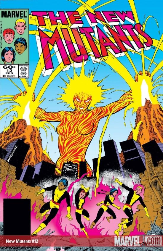 New Mutants (1983) #12