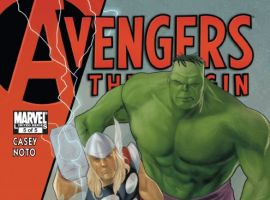 AVENGERS: THE ORIGIN #5 cover by Phil Noto