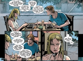 OSBORN #1 preview page by Emma Rios