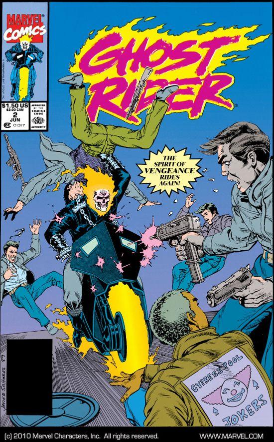 Ghost Rider (1990) #2