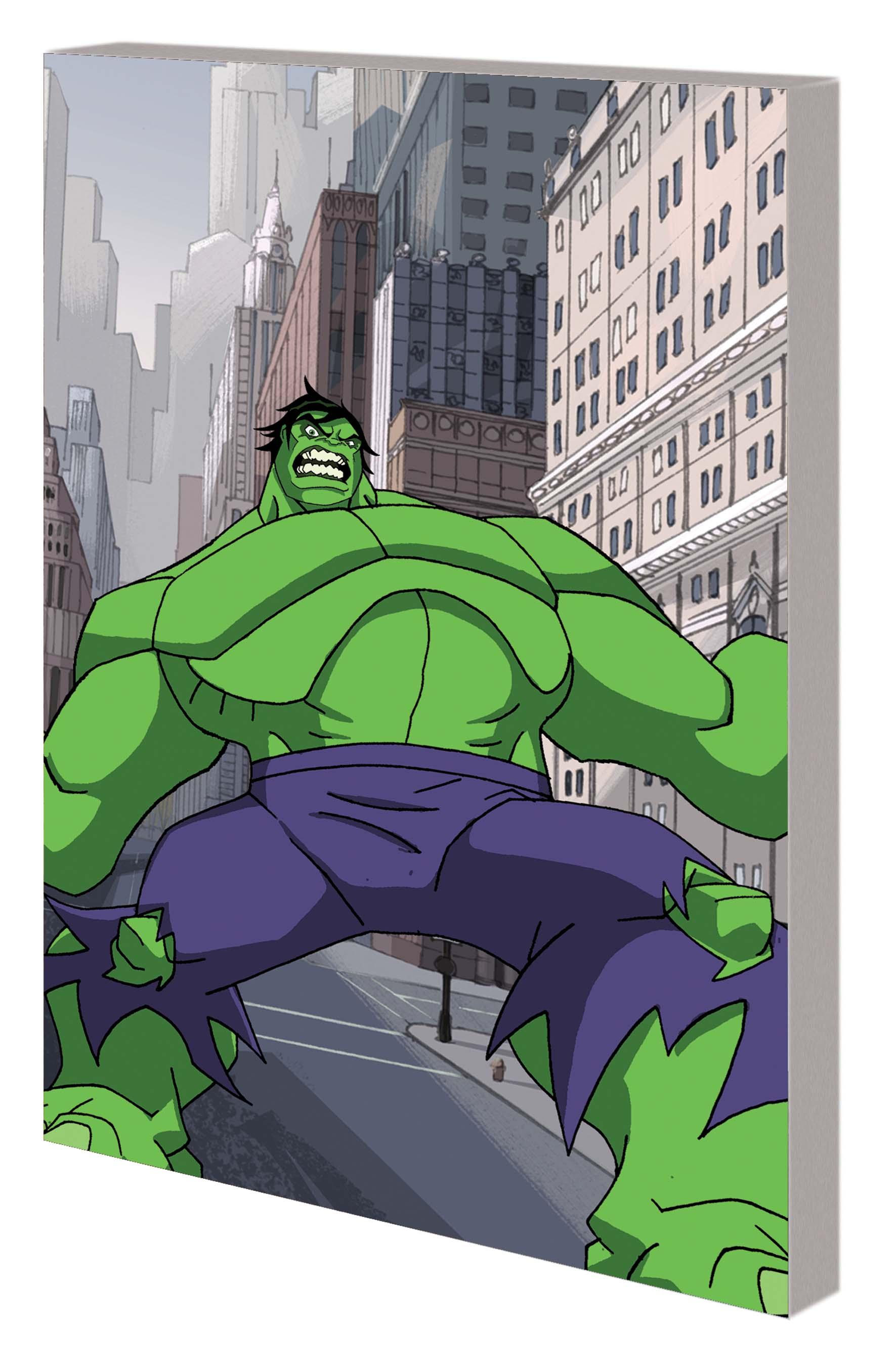 Marvel Adventures Avengers: Hulk (Digest)