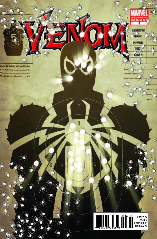Venom (2011) #5 (2nd Printing Variant)