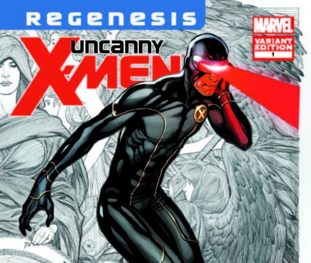 UNCANNY X-MEN 1 CHO VARIANT (XREGB)