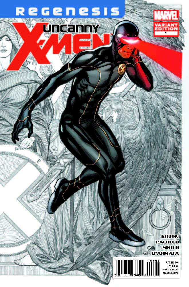 Uncanny X-Men (2011) #1 (Cho Variant)