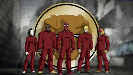 Screenshot from Ultimate Spider-Man Season 1, Episode 18