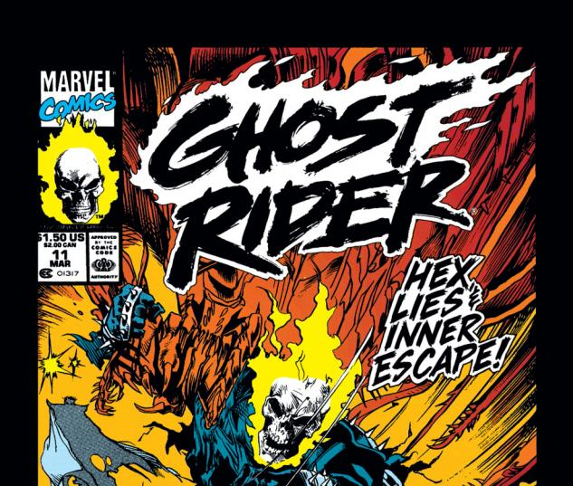 Ghost Rider (1990) #11 Cover
