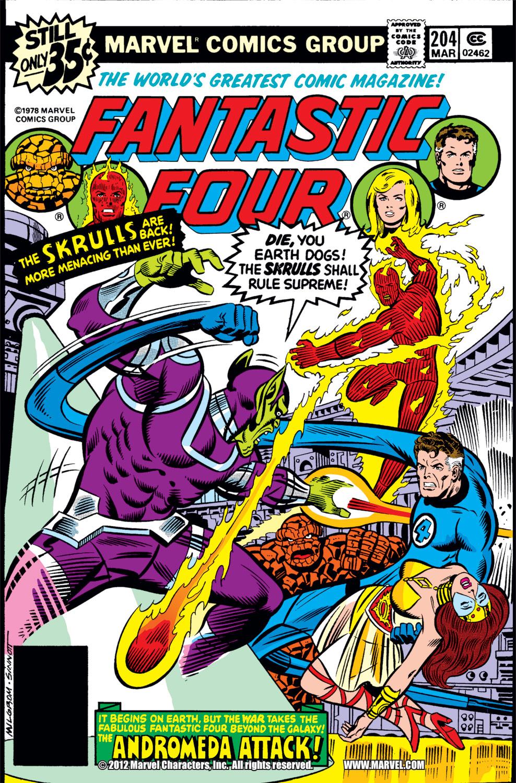 Fantastic Four (1961) #204