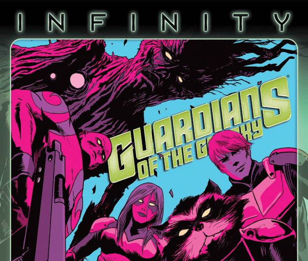 Guardians of the Galaxy (2013) #8 cover by Francesco Francavilla