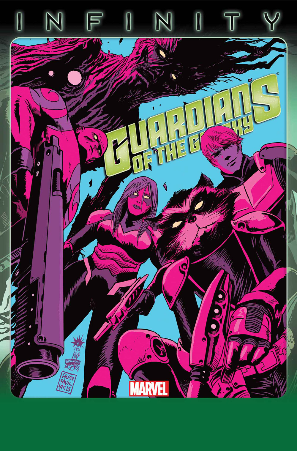 Guardians of the Galaxy (2013) #8
