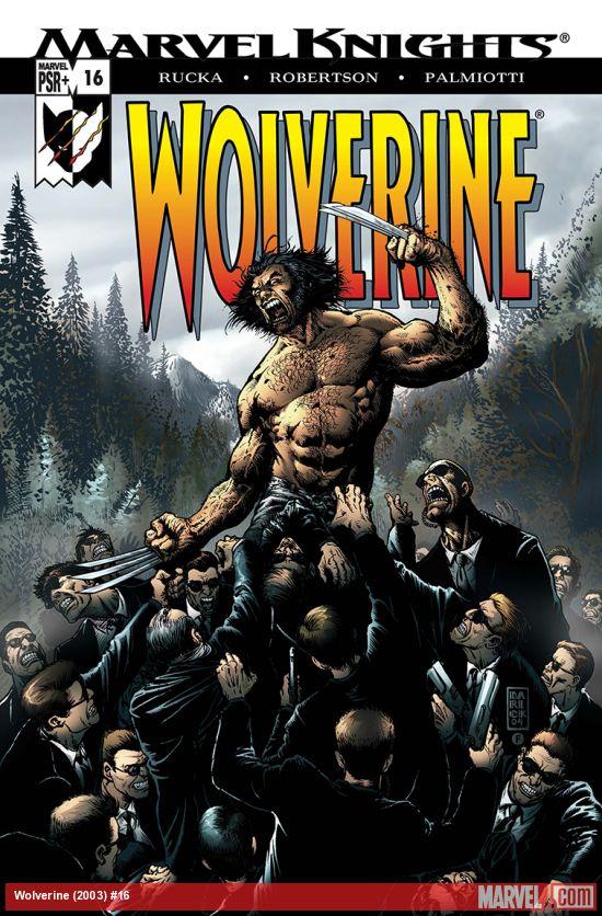 Wolverine (2003) #16