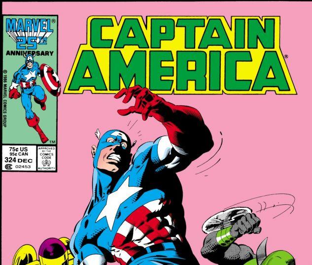 Captain America (1968) #324 Cover