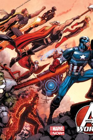 Avengers World (2014) #1 (Adams Wraparound Variant)
