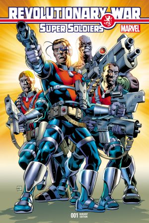 Revolutionary War: Supersoldiers (2014) #1
