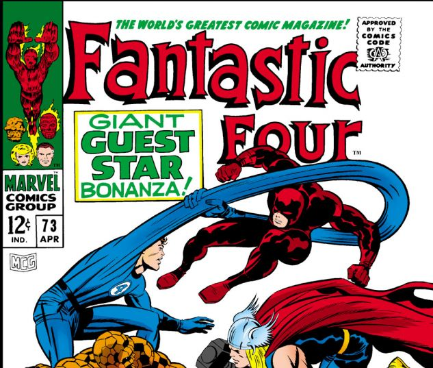 Fantastic Four (1961) #73 Cover