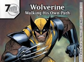 Wolverine – Walking His Own Path card