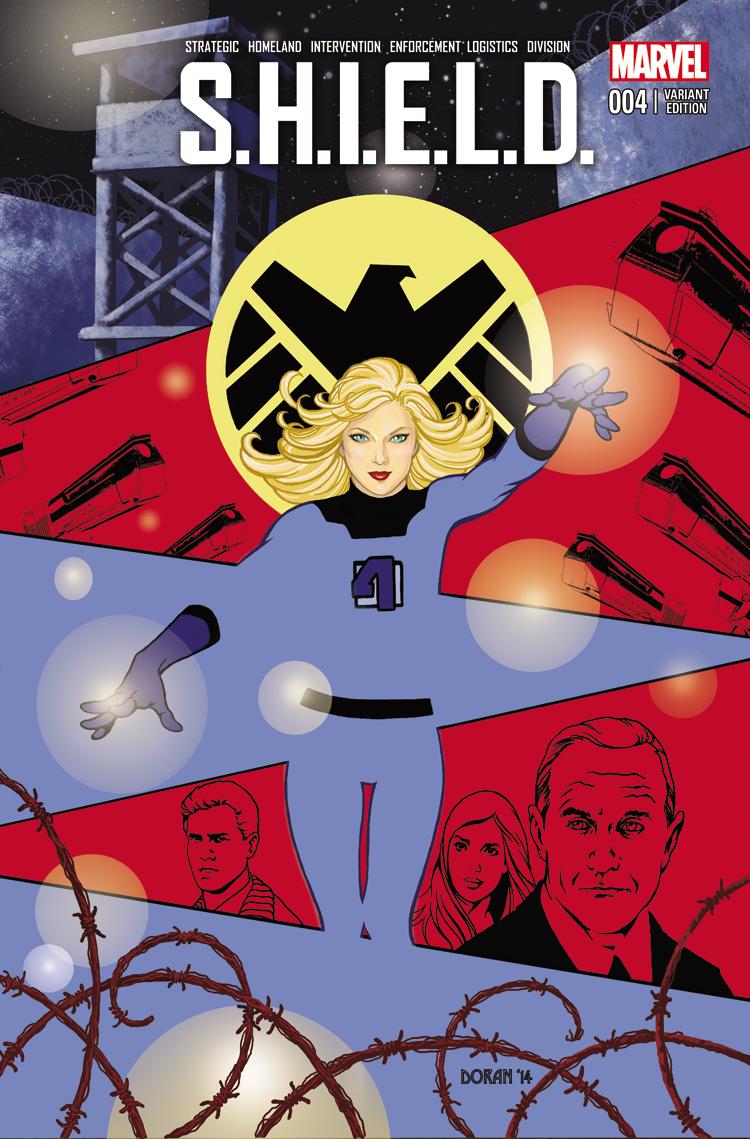 S.H.I.E.L.D. (2014) #4 (Doran Wom Variant)