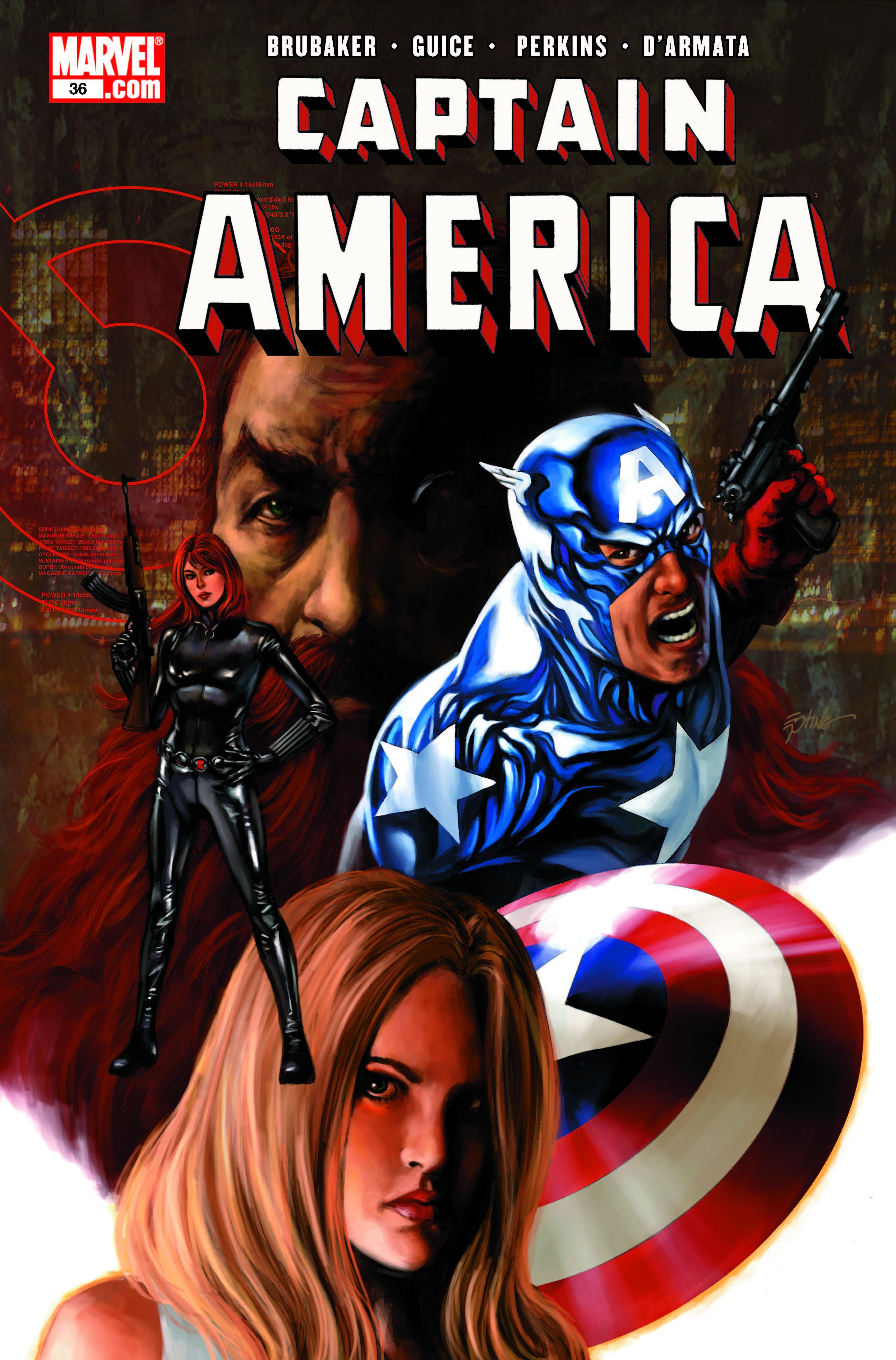 Captain America (2004) #36
