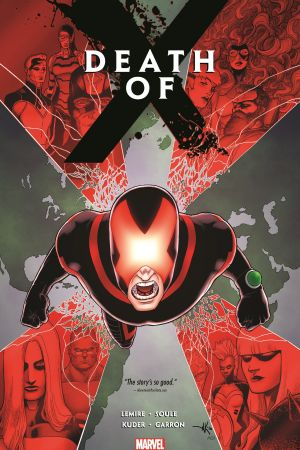Death of X (Trade Paperback)