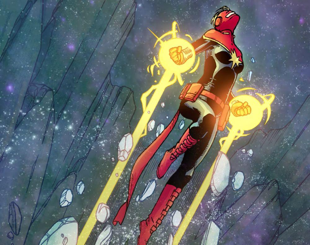 The Mighty Captain Marvel