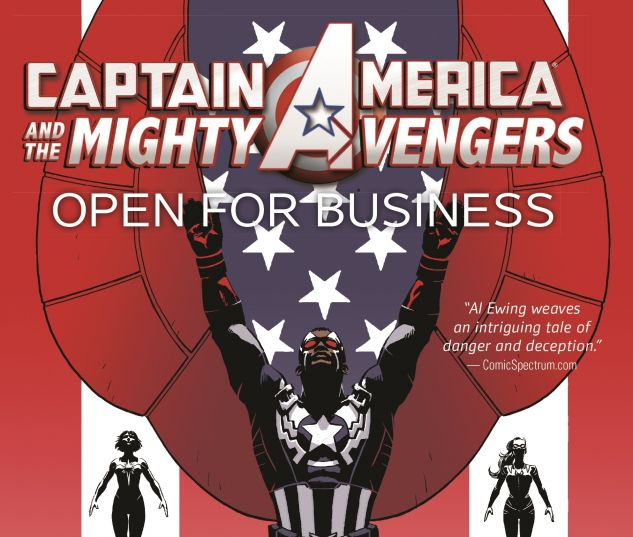 cover from Captain America & the Mighty Avengers (2015)