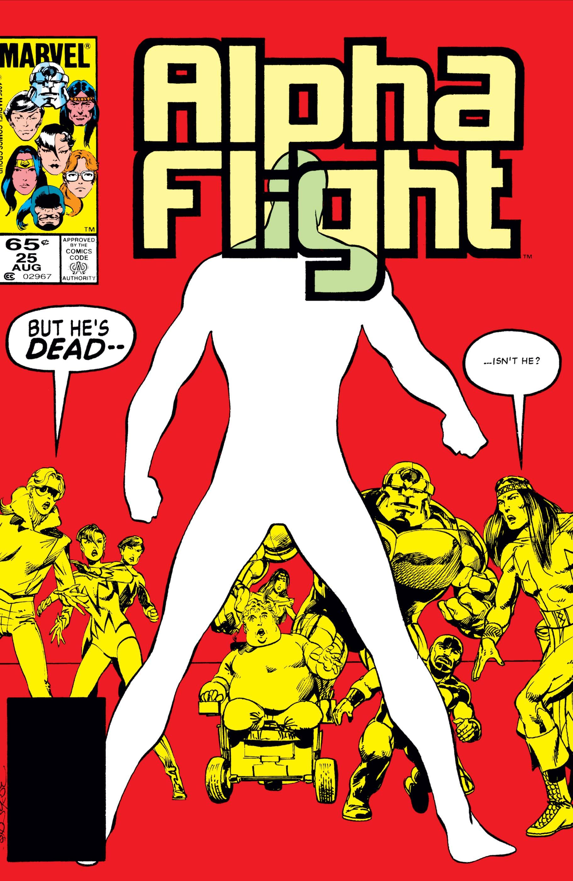 Alpha Flight (1983) #25