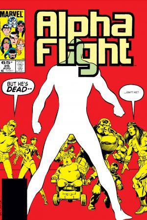 Alpha Flight #25