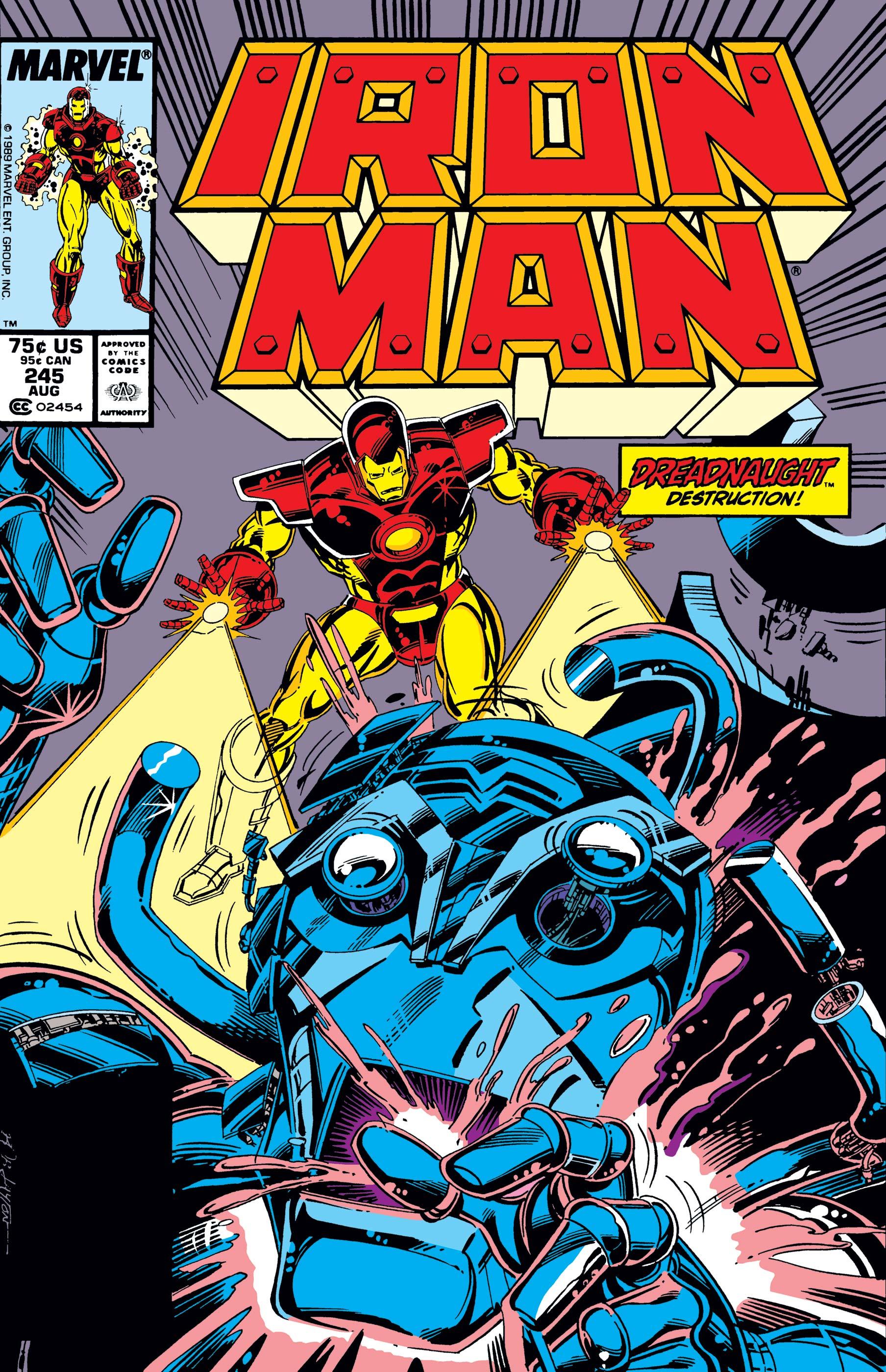 Iron Man (1968) #245