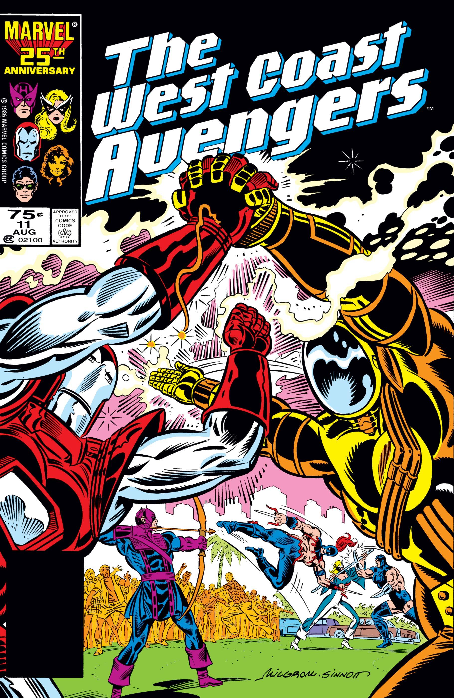 West Coast Avengers (1985) #11