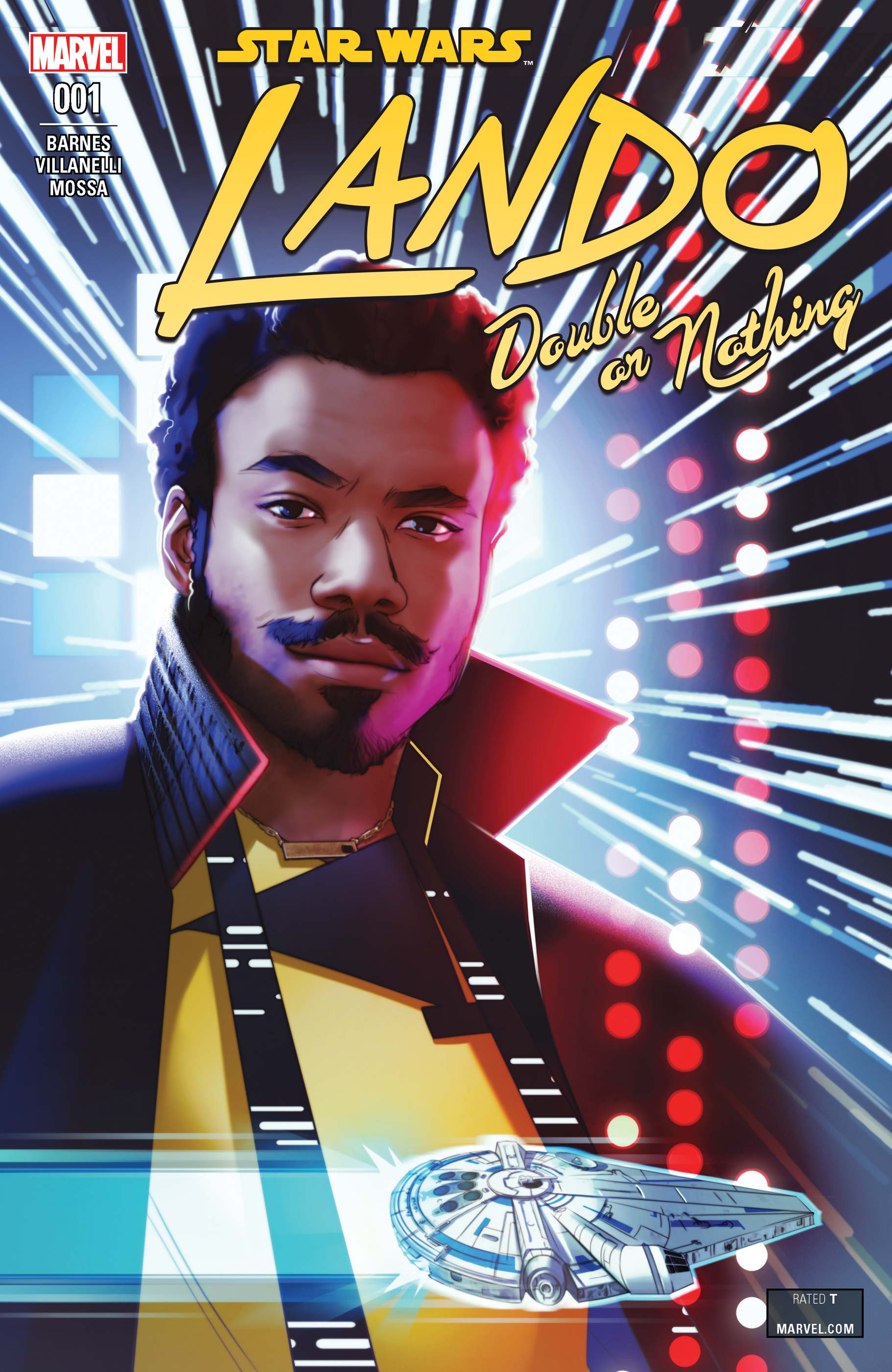 Star Wars: Lando - Double or Nothing (2018) #1