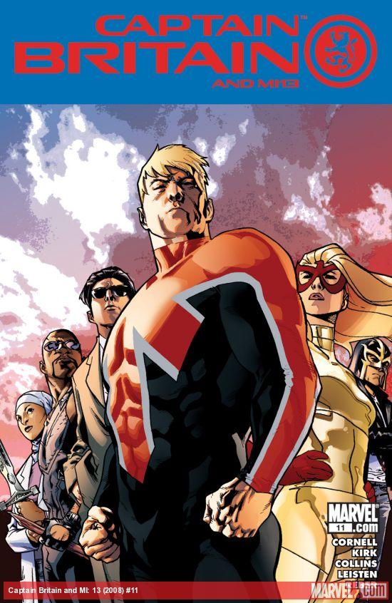 Captain Britain and MI: 13 (2008) #11
