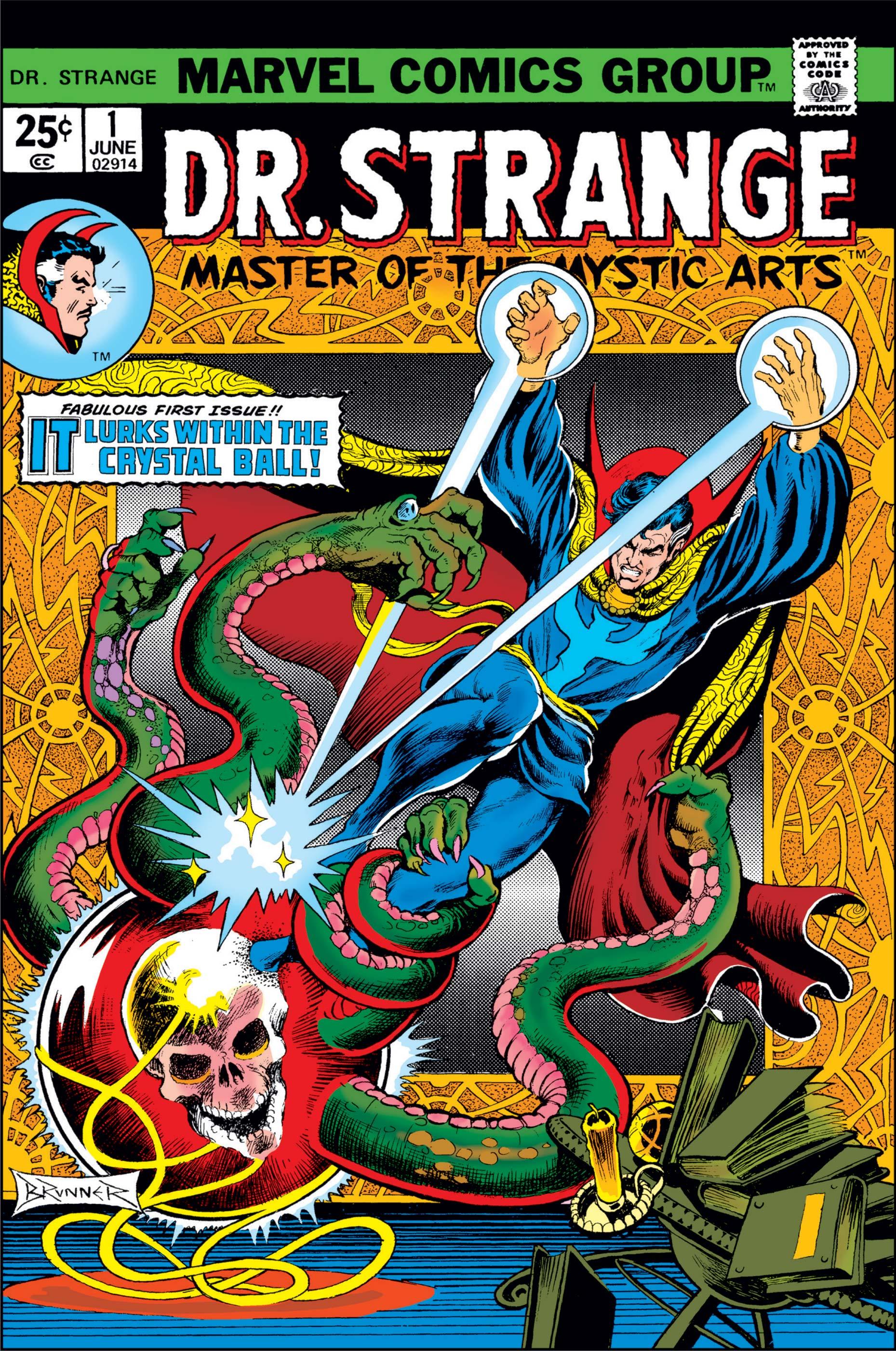 Image result for Dr. Strange comic