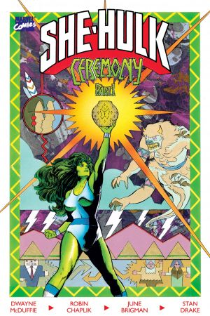 The Sensational She-Hulk: Ceremony (1989) #1