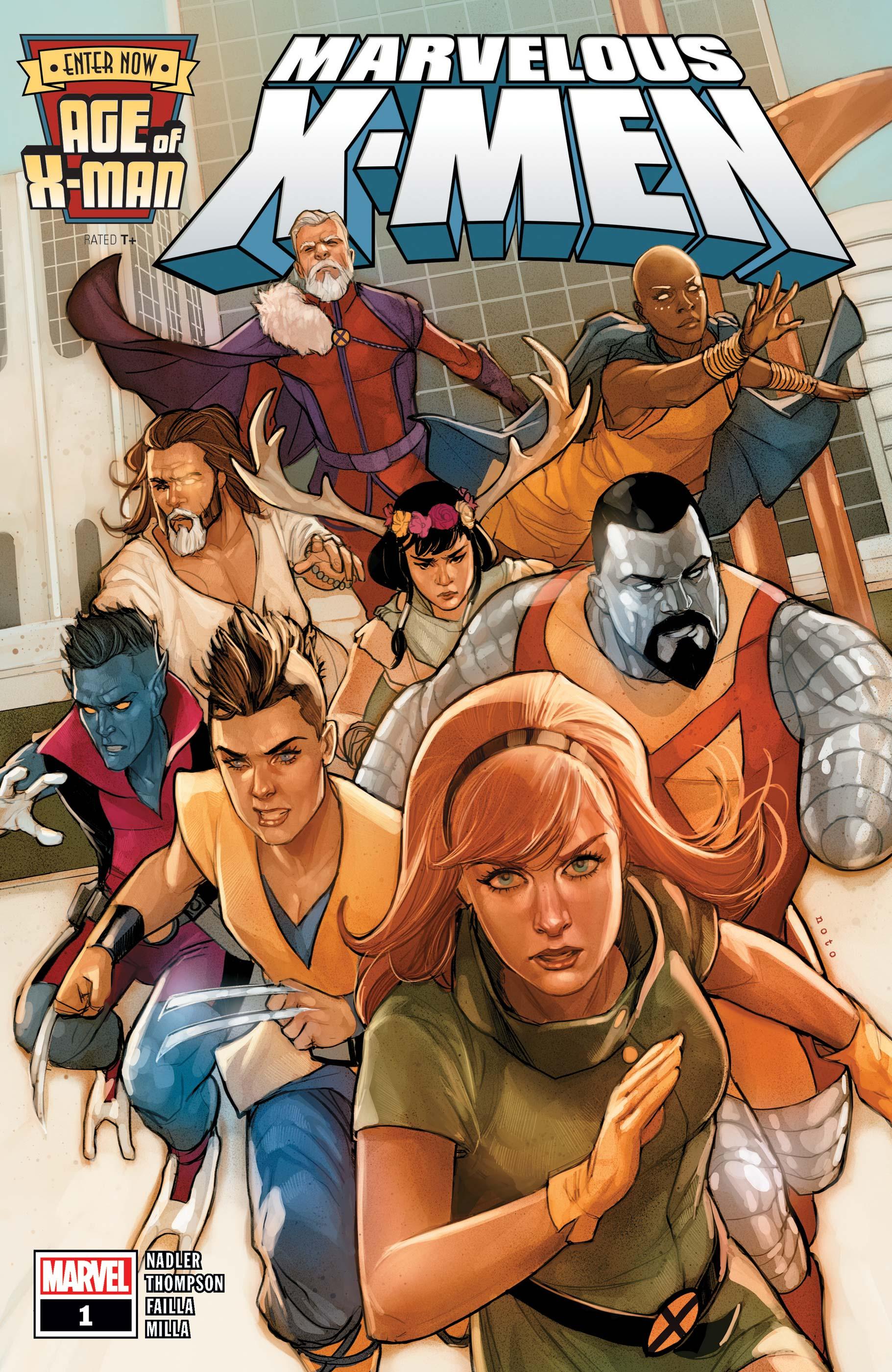 Age of X-Man: The Marvelous X-Men (2019) #1