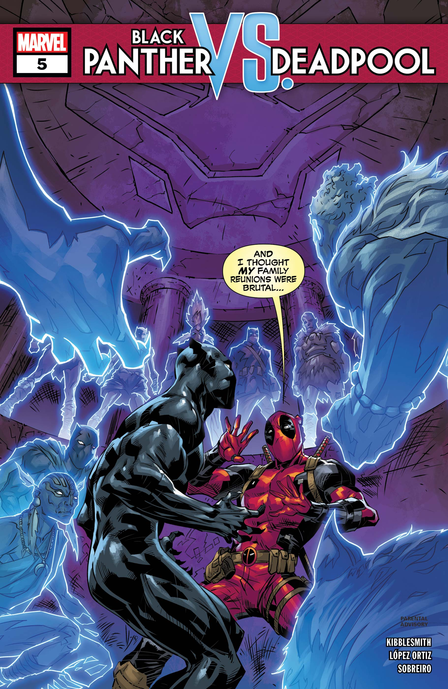 Black Panther Vs. Deadpool (2018) #5