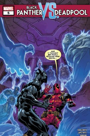 Black Panther Vs. Deadpool #5