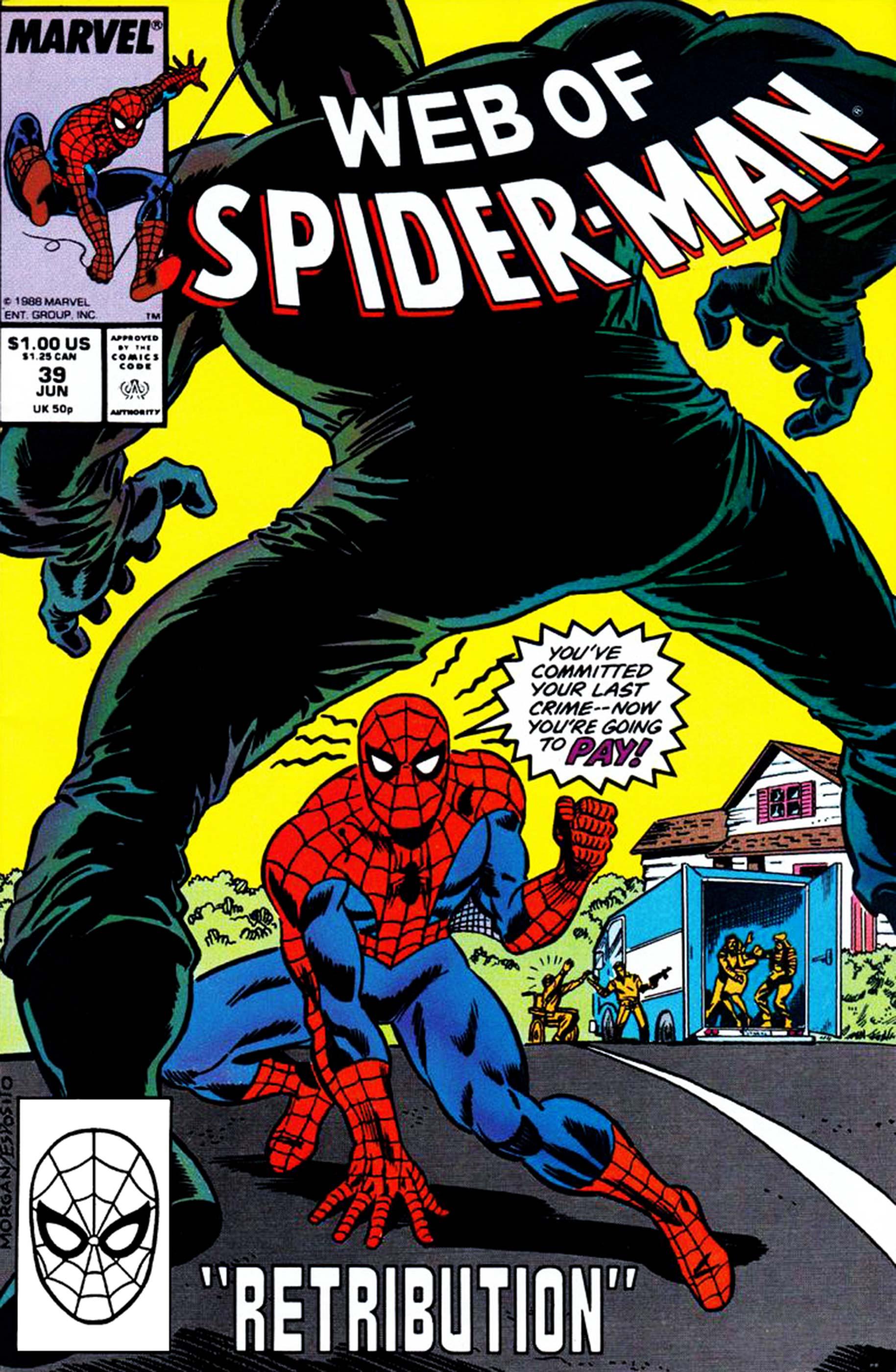 Web of Spider-Man (1985) #39