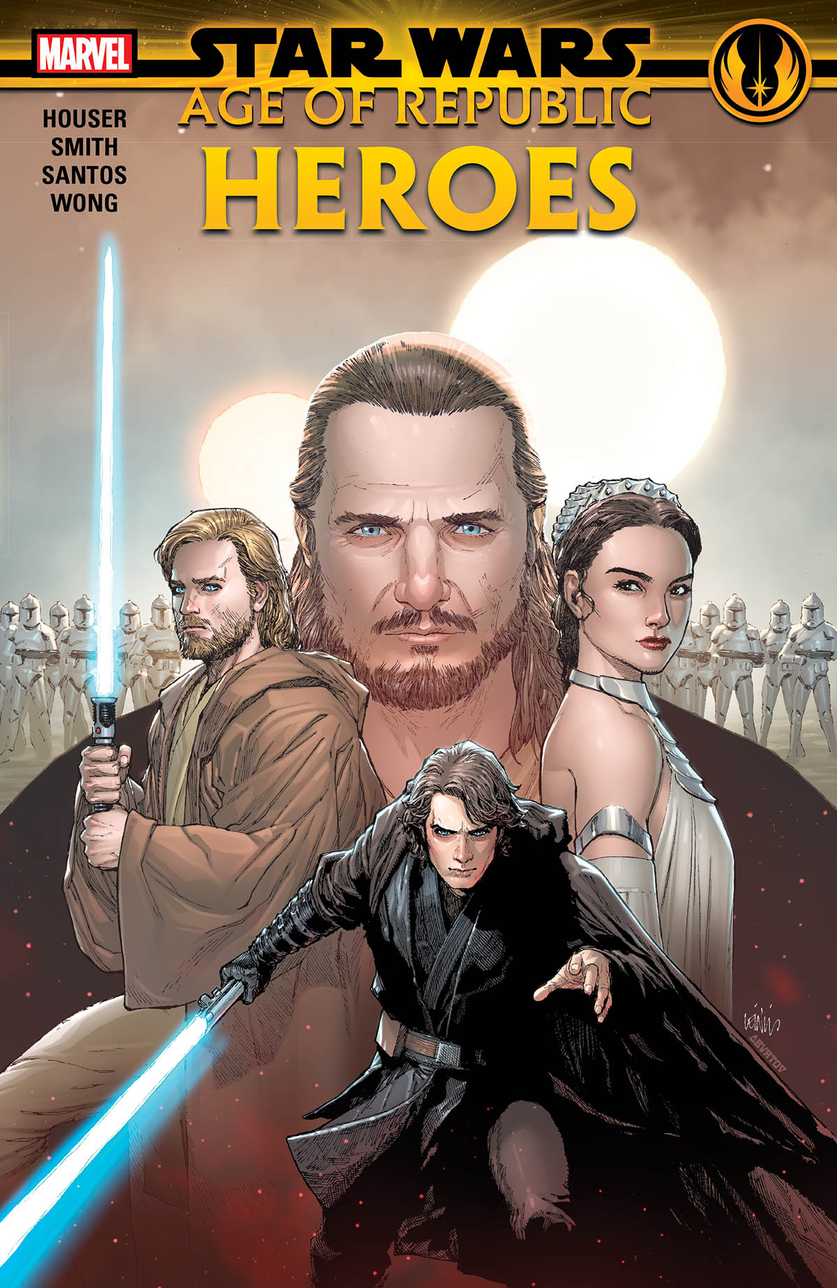 Star Wars: Age Of Republic - Heroes (Trade Paperback)