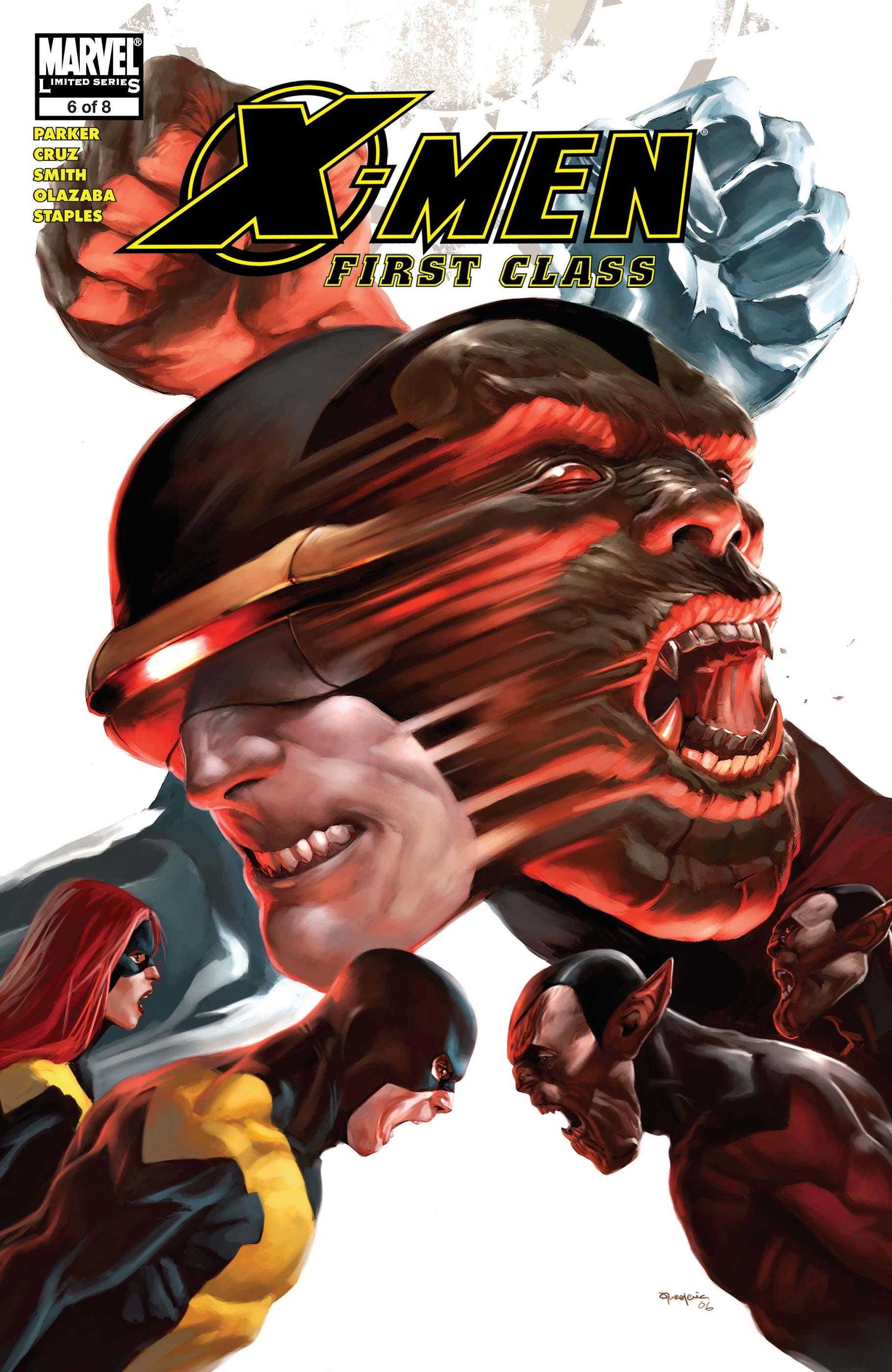 X-Men: First Class (2006) #6