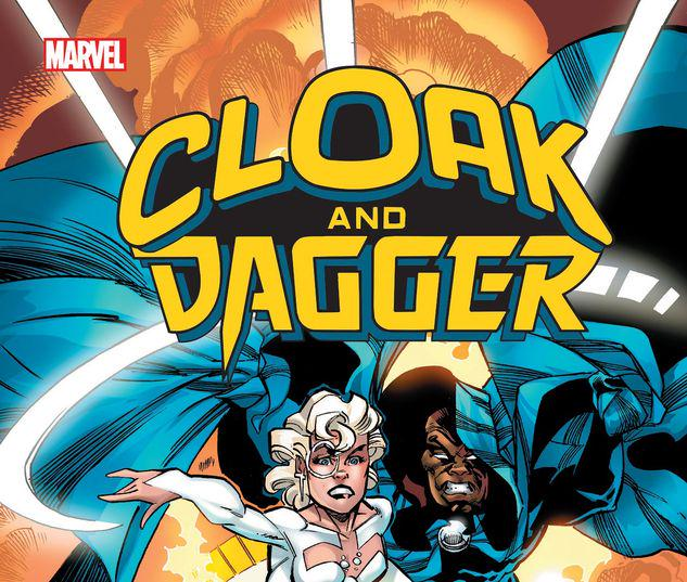 CLOAK AND DAGGER: AGONY AND ECSTASY TPB #1