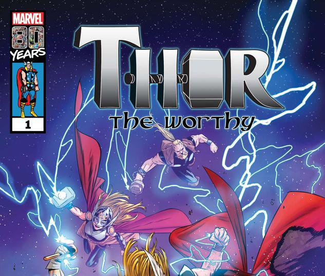THOR: THE WORTHY 1 #1
